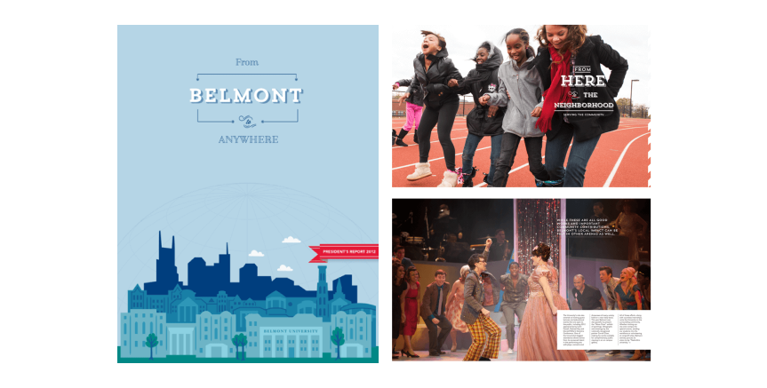 Belmont: Annual Report